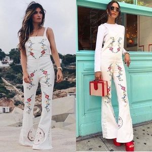 Fillyboo At the Heart Of It Embroidered Jumpsuit